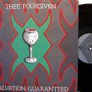 Thee Fourgiven - Salvation Guaranteed - Vinyl LP Record + Insert - California Goth Dark Punk Rock