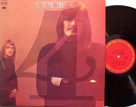 Soft Machine, The - Fourth - Vinyl LP Record - Psych Prog Rock