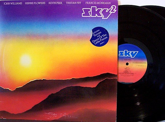 Sky - Sky 2 - Vinyl 2 LP Record Set - UK Pressing - Prog Rock
