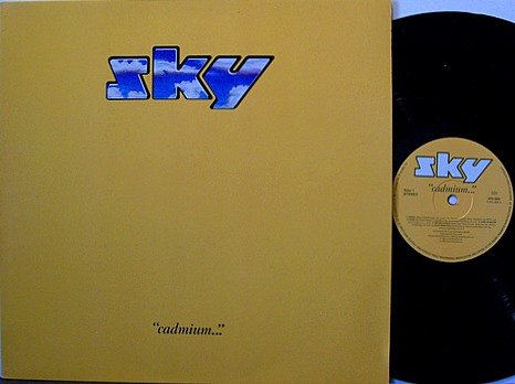 Sky - Cadmium - Vinyl LP Record - West German Pressing - Prog Rock