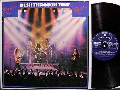 Rush - Rush Through Time - Vinyl LP Record - West Germany Pressing - Prog Rock