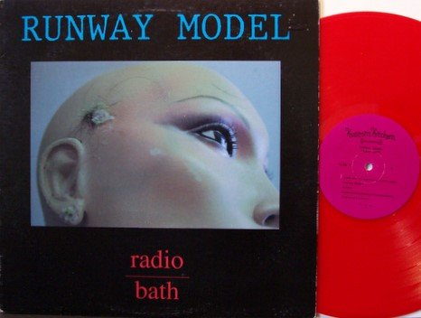 Runway Model - Radio Bath - Red Colored Vinyl - LP Record - Indie Punk Rock