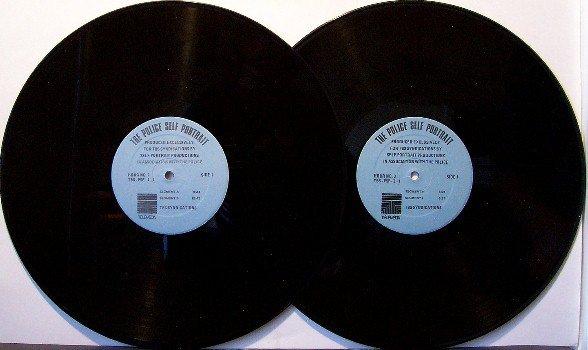 Police, The - Self Portrait Radio Show - Vinyl 2 LP Record - Hour 1 and 3 - Rock