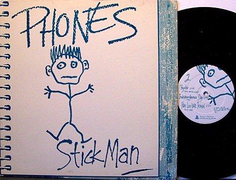 Phones - Stick Man - Vinyl Mini LP Record - Minneapolis Alternative Indie Rock