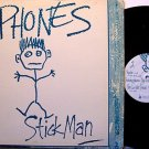 Phones - Stick Man - Vinyl Mini LP Record - Minneapolis Alternative Indie Rock
