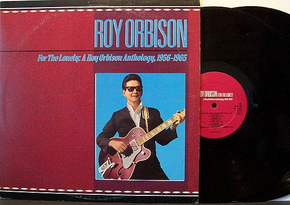 Orbison, Roy - For The Lonely 1956-1965 - Vinyl 2 LP Record Set - Rhino Label - Rockabilly Rock