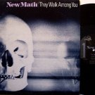 New Math - They Walk Among You - Vinyl Mini LP Record - Private California Indie Rock