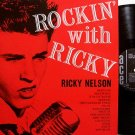 Nelson, Ricky - Rockin' With Ricky - UK Pressing - Vinyl LP Record - Ace Label Mono - Rock