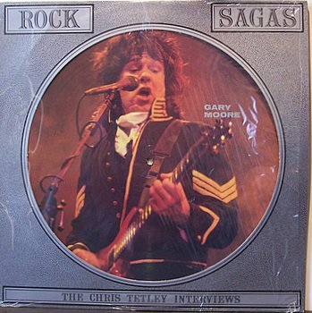 Moore, Gary - Rock Sagas - Picture Disc - Vinyl LP Record - Rock