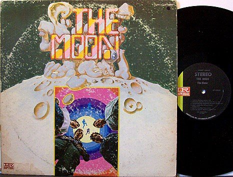 Moon, The - Self Titled - Vinyl LP Record - Psych Rock