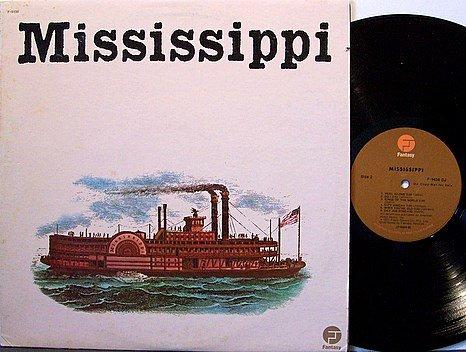 Mississippi - Self Titled - Vinyl LP Record - Promo - Fantasy Label - Rock