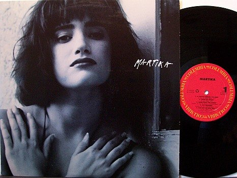 Martika - Self Titled - Vinyl LP Record - Promo - Pop Rock