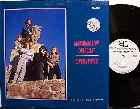 Marshmallow Overcoat - Beverly Pepper - Vinyl LP Record + Press Kit & Photo - Indie Rock