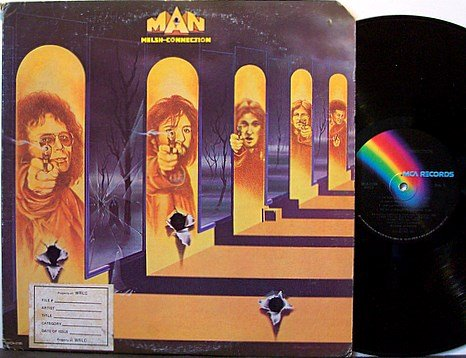 Welsh Connection, The - Man - Vinyl LP Record - Rock