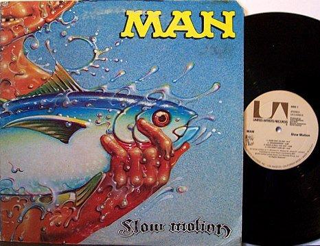 Man - Slow Motion - Vinyl LP Record - Rock