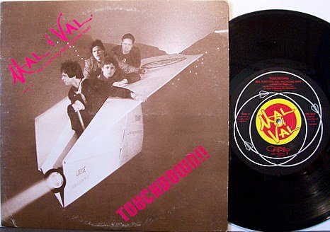 Mal & Val - Touchdown - Vinyl Mini LP Record + Flite Guide Insert - New Wave Indie Rock