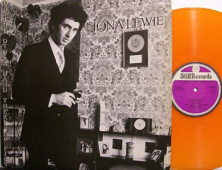 Lewie, Jona - On The Other Hand There's A Fist - Orange Colored Vinyl - Vinyl LP Record - Punk Rock