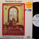 Lampe, Nicholas - It Happened Long Ago - White Label Promo - Vinyl LP Record - Hippie Rock