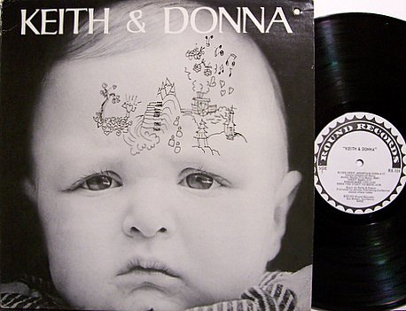 Keith & Donna - Keith and Donna Godchaux - Vinyl LP Record - Grateful Dead - Rock