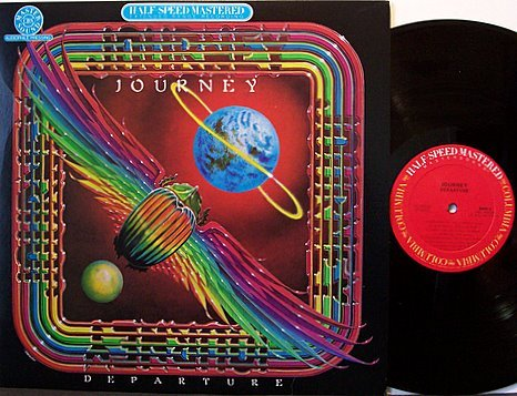 Journey - Departure - Half Speed Master - Audiophile - Vinyl LP Record - Rock