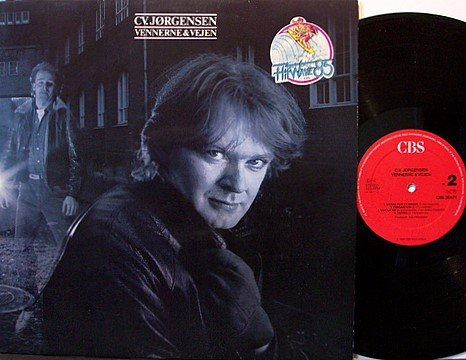 Jorgensen, Cv. - Vennerne & Vejen - Vinyl LP Record - Holland Pressing - Rock