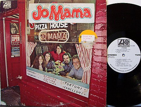 Jo Mama - Self Titled - White Label Promo - Vinyl LP Record - Jomama - Rock