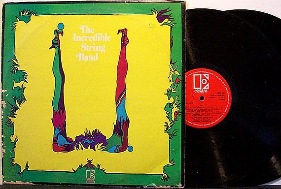 Indredible String Band, The - U - Vinyl 2 LP Record Set + Insert - UK - Folk Psych Rock