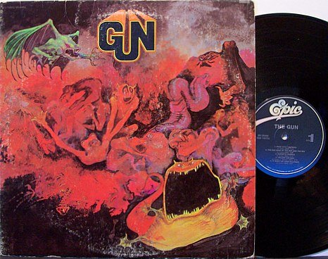 Gun - Self Titled - Vinyl LP Record - Roger Dean Art Cover - Rock