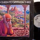 Gryphon - Red Queen To Gryphon Three - Vinyl LP Record - Rock