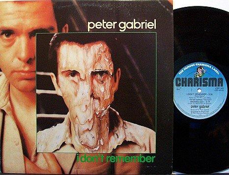 "Gabriel, Peter - I Don't Remember - UK Pressing - Vinyl 12"" Single Record - Rock"