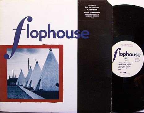 Flophouse - Self Titled - Vinyl LP Record + Inserts - Rock