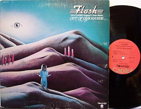 Flash - Out Of Our Hands - Vinyl LP Record - Peter Banks - Rock