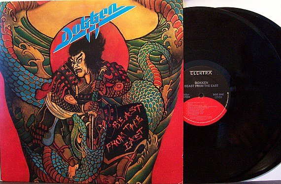 Dokken - Beast From The East - Vinyl 2 LP Record Set - Rock