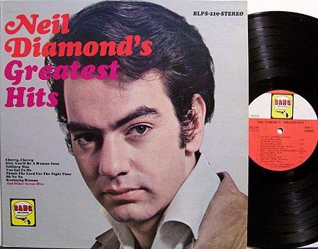 Diamond, Neil - Neil Diamond's Greatest Hits - Vinyl LP Record - Pop Rock