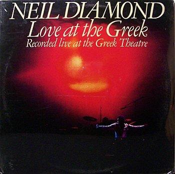 Diamond, Neil - Love At The Greek - Sealed Vinyl 2 LP Record Set - Pop Rock