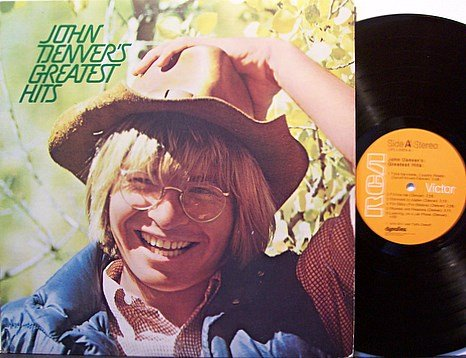 Denver, John - Greatest Hits - Vinyl LP Record - Pop Country Rock