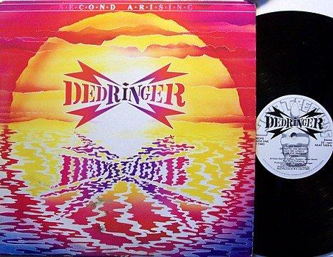 Dedringer - Second Arising - UK Pressing - Vinyl LP Record - Rock