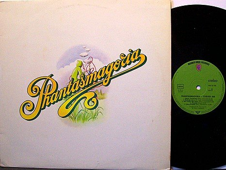 Curved Air - Phantasmagoria - German Pressing - Vinyl LP Record - Rock