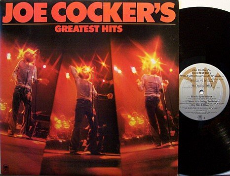 Cocker, Joe - Greatest Hits - Vinyl LP Record - Pop Rock