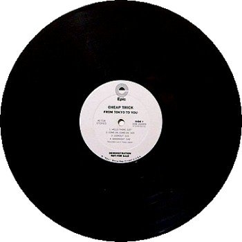 Cheap Trick - From Tokyo To You - White Label Promo Only - Vinyl LP Record - Rock