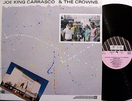 Carrasco, Joe King & The Crowns - Borderline - France Pressing - Vinyl LP Record - Rock
