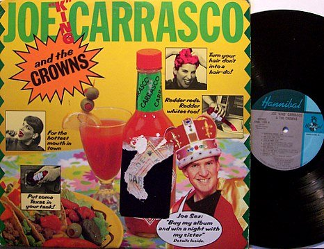Carrasco, Joe & The Crowns - Self Titled - Vinyl LP Record - Rock