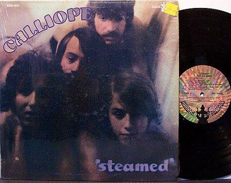 Calliope, The - Steamed - Vinyl LP Record - Rock