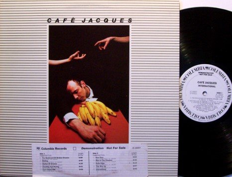Cafe Jacques - International - White Label Promo - Vinyl LP Record - Phil Collins - Rock
