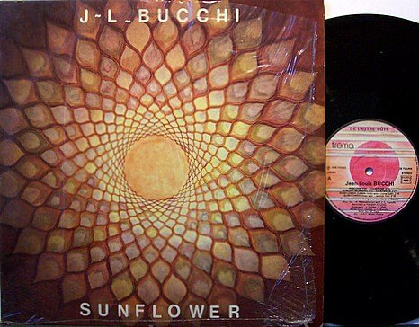 Bucchi, J L - Sunflower - France Pressing - Vinyl LP Record - Jean Louis - Jazz Rock