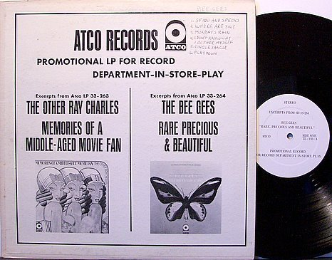 Bee Gees, The - Promotional In Store Play - 1968 Promo Only - Vinyl LP Record - Pop Rock