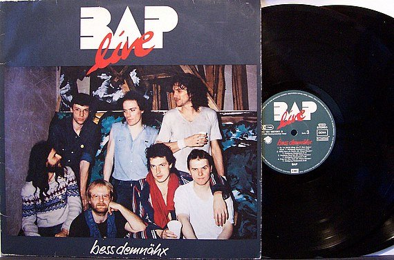 Bap - Bess Demnahx - Vinyl 2 LP Record Set - Netherlands Pressing - German Prog Rock