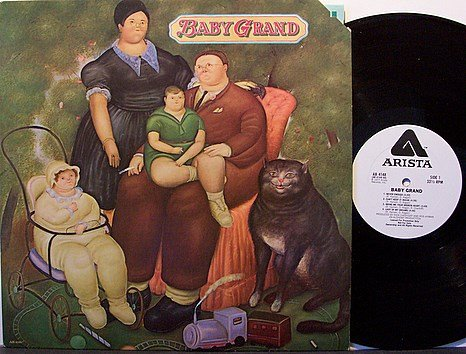 Baby Grand - Self Titled - Vinyl LP Record - White Label Promo - The Hooters - Rock