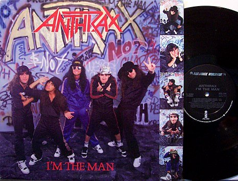 Anthrax - I'm The Man - Vinyl Mini LP Record - Rock