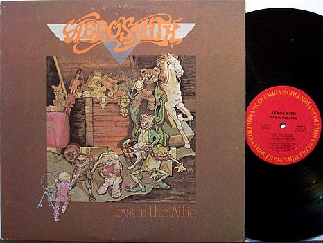 Aerosmith - Toys In The Attic - Vinyl LP Record - Rock